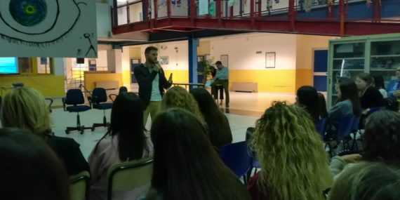 Intervento del vicepresidente di Arcigay BAT Gianluca Caruolo